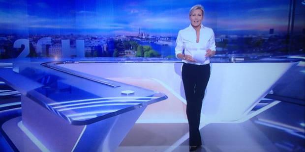 L'immense tristesse de Claire Chazal pour son dernier 20H sur TF1 - La Libre