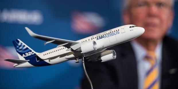 """Jour """"historique"""" pour Airbus et ses premiers avions """"Made in USA"""" - La Libre"""