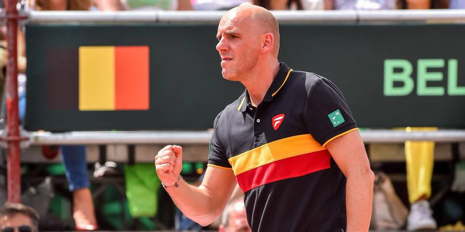 """Van Herck: """"Oui, on peut rêver de la finale de la Coupe Davis !"""" - La Libre"""