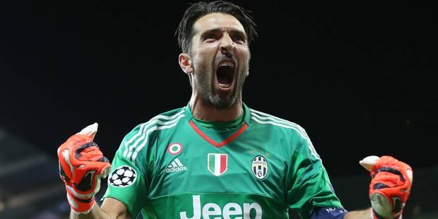 Ligue des Champions : Buffon, 37 ans et toujours bluffant - La Libre