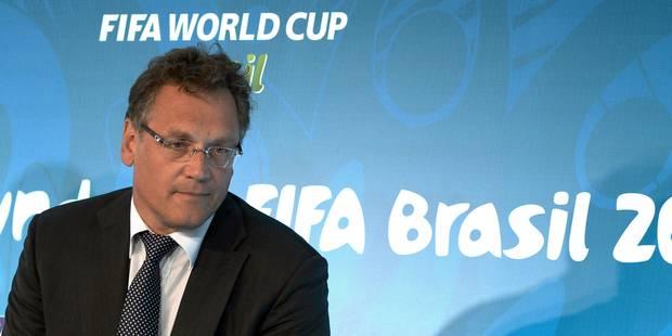FIFA: Jérôme Valcke relevé de ses fonctions de secrétaire général - La Libre