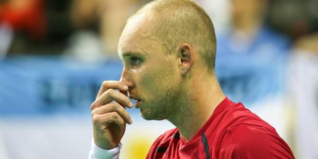 Coupe Davis: Darcis s'incline, l'Argentine revient à une manche partout (Vidéos) - La Libre