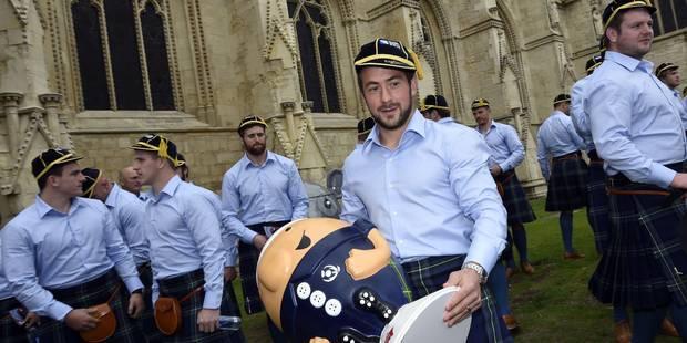 Mondial de rugby: les Écossais, privés de cornemuses, furieux - La Libre