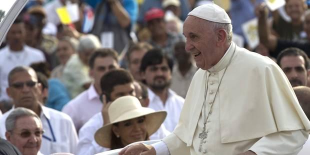 Le pape François reçu par Fidel Castro à son domicile de La Havane - La Libre