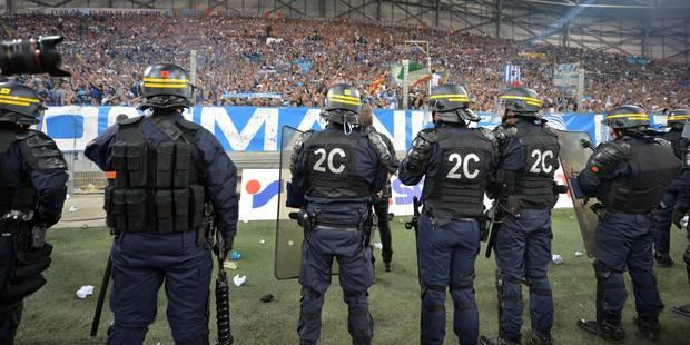 Football: les incidents OM-OL inquiètent à 9 mois de l'Euro - La Libre