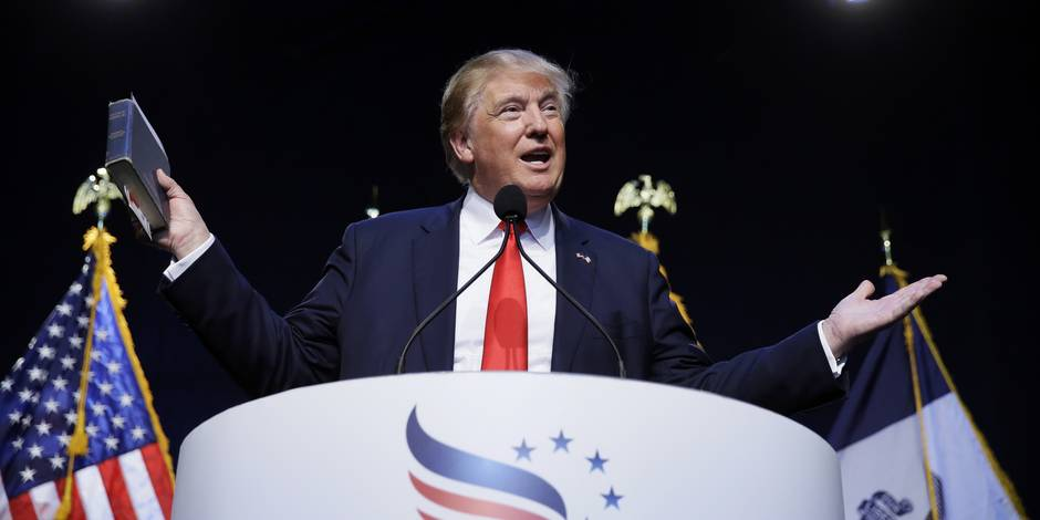 USA: Donald Trump, en tête des sondages des primaires républicaines, ne croit pas au changement climatique