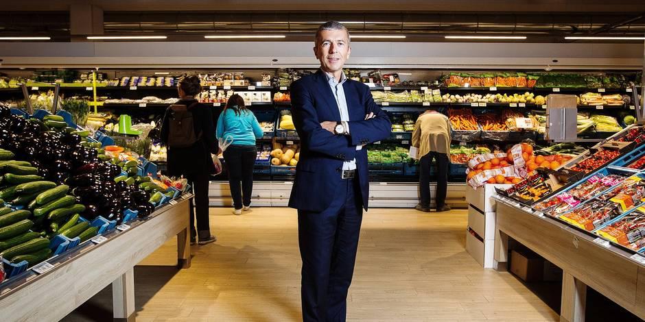 """Denis Knoops, CEO de Delhaize: """"Redevenir le supermarché favori des Belges"""" - La Libre"""