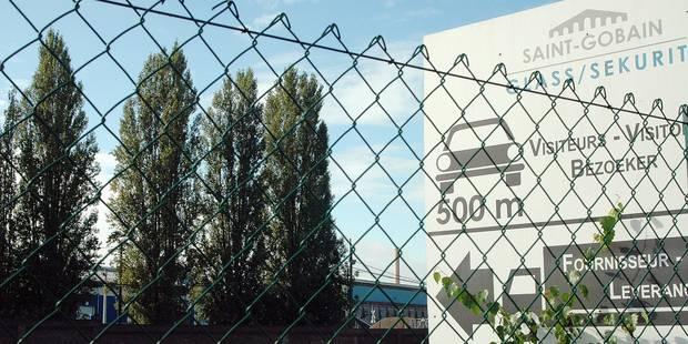Le site Saint-Gobain privé de ses trains à Sambreville - La Libre