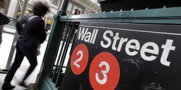 Wall Street finit en forte baisse, entraînée par la déprime mondiale - La Libre