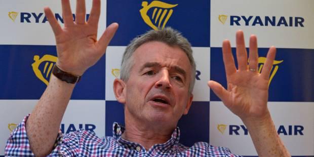 Ryanair plaide pour un partenariat avec les grandes compagnies sur le moyen courrier - La Libre