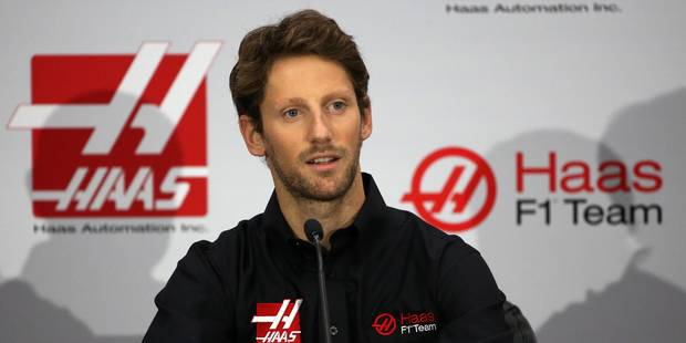 F1: Romain Grosjean rejoint l'écurie Haas (VIDÉO) - La Libre