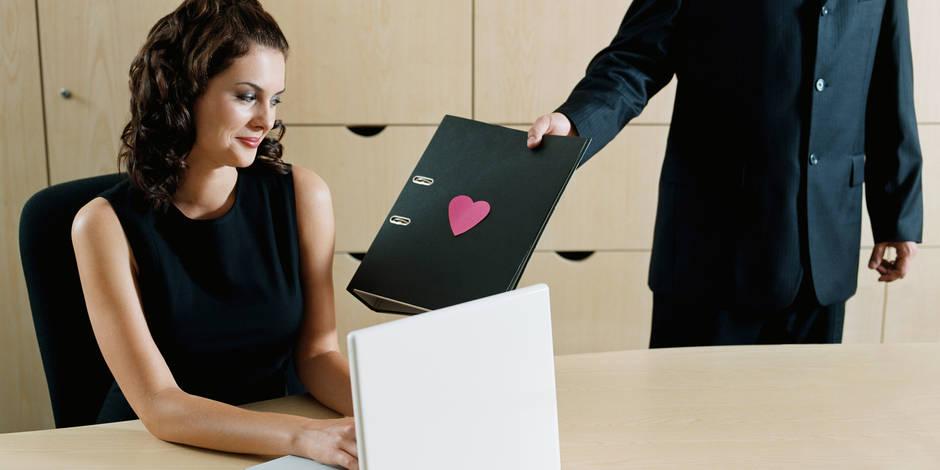 Un quart des salariés est un jour tombé amoureux au travail