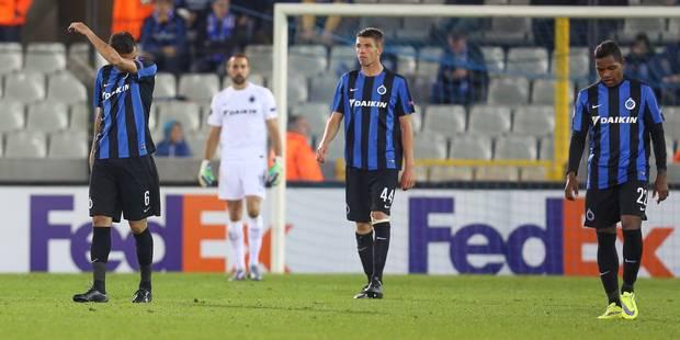 Bruges dans le dur après une nouvelle défaite (1-3) - La Libre