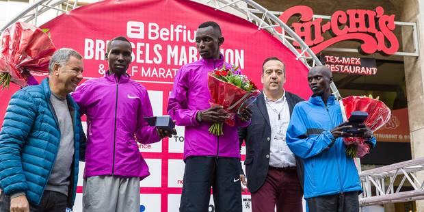 Le Kenyan Geoffrey Kipkoech remporte le marathon de Bruxelles - La Libre