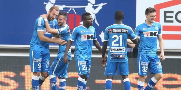 La Gantoise crucifie le Club Bruges, 4 à 1, avec 3 buts de Sven Kums - La Libre