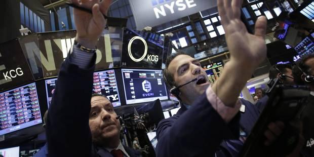 Wall Street reste sur sa lancée et finit en nette hausse - La Libre