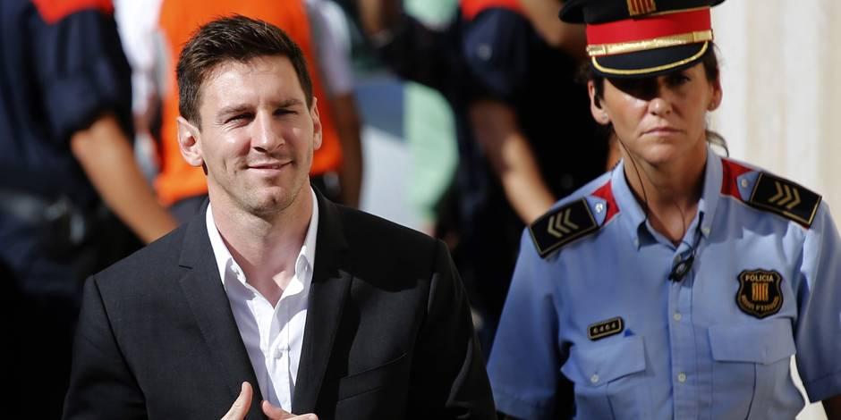Fraude fiscale: Messi sauvé, pas son père...