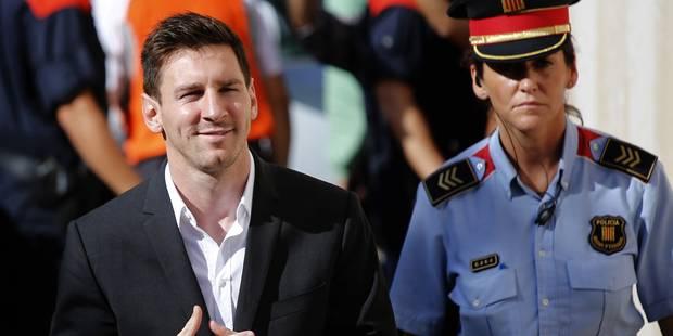 Fraude fiscale: Messi sauvé, pas son père... - La Libre