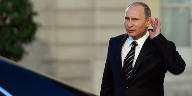 Poutinemania ou quand la popularité de Poutine explose en Irak - La Libre