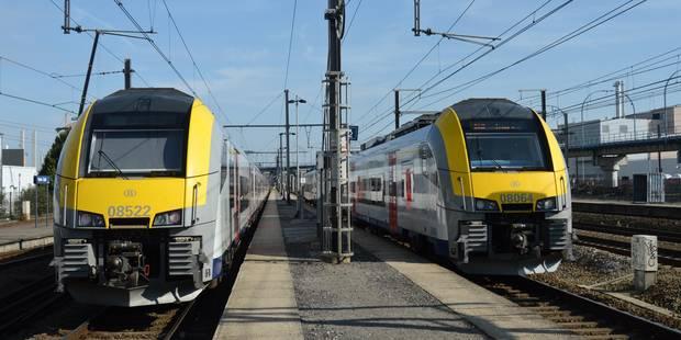 """Grève SNCB : """"Jusqu'à 60% des trains durant le pic du soir à Bruxelles, au moins 75% ailleurs"""" - La Libre"""