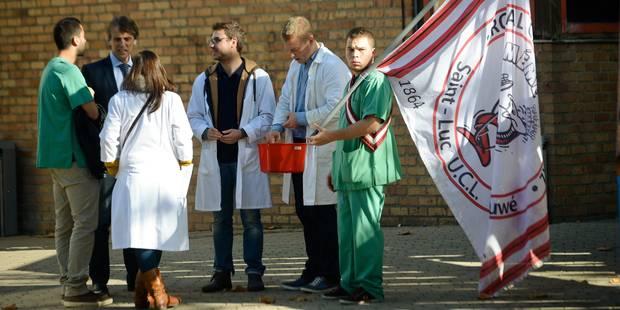 Les étudiants de médecine appellent à la mobilisation générale le 16 octobre - La Libre