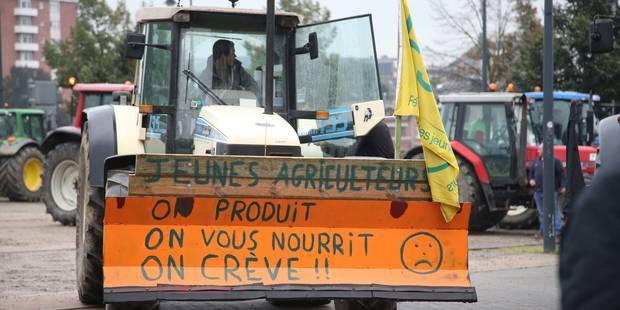 Accord sur la répartition de l'enveloppe de 9,6 millions pour les agriculteurs wallons - La Libre