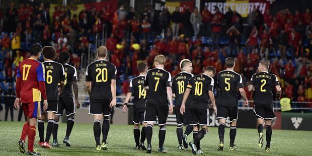 Les Diables ne tremblent pas contre Andorre (1-4) et verront la France - La Libre