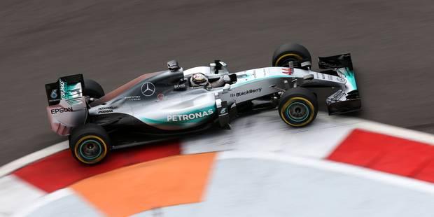 GP de Russie: Lewis Hamilton rit, Rosberg pleure... mais Mercedes est champion du monde ! (PHOTOS) - La Libre