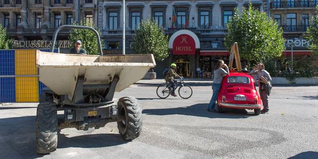 Piétonnier : la Ville de Bruxelles examine les demandes des commerçants du boulevard Adolphe Max - La Libre