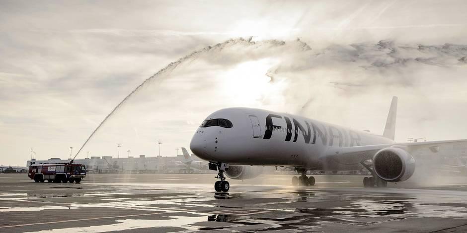 Le premier Airbus A350 européen à Zaventem - La Libre