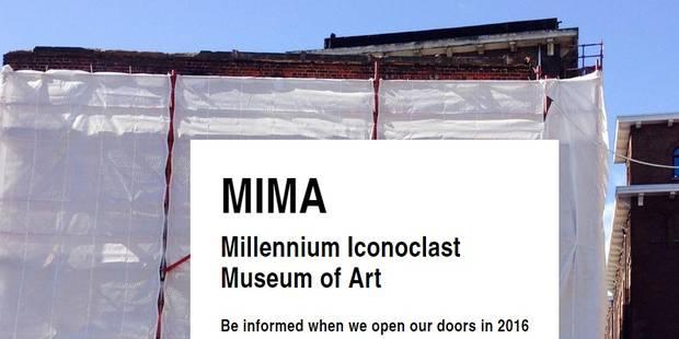 En mars, Bruxelles aura son Mima - La Libre