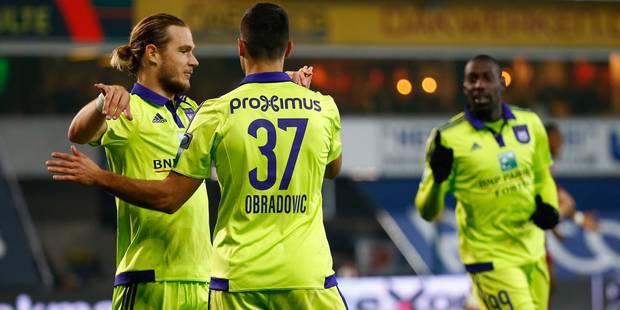 Anderlecht ne fait qu'une bouchée de Zulte (0-4) - La Libre