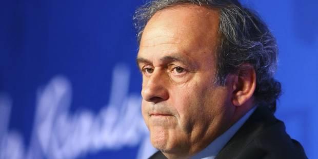 La candidature de Platini à la FIFA a du plomb dans l'aile - La Libre