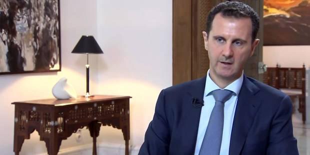 Bachar al-Assad a rencontré Vladimir Poutine à Moscou - La Libre