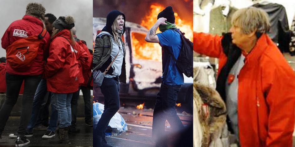 Violences, Raymonde, barrages : les syndicats peinent à redorer leur image - La Libre