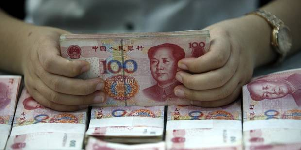 Chine: la banque centrale abaisse son taux directeur - La Libre