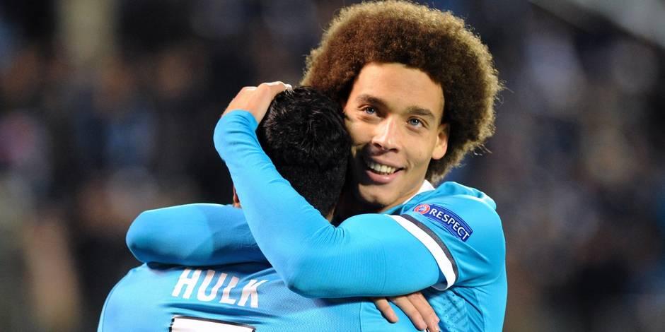 Belges à l'étranger: Hazard et Chelsea trébuchent encore, Witsel participe à la fête du Zénith (VIDEO)