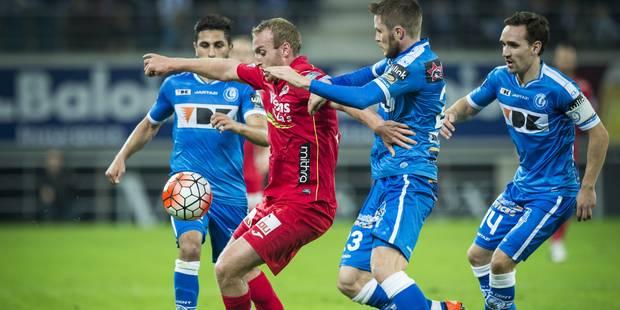 Gand et Ostende partagent dans le choc, Lokeren laisse le Standard seul à la dernière place - La Libre