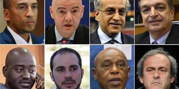 Présidence de la Fifa: voici les 8 candidats qui vont en découdre - La Libre