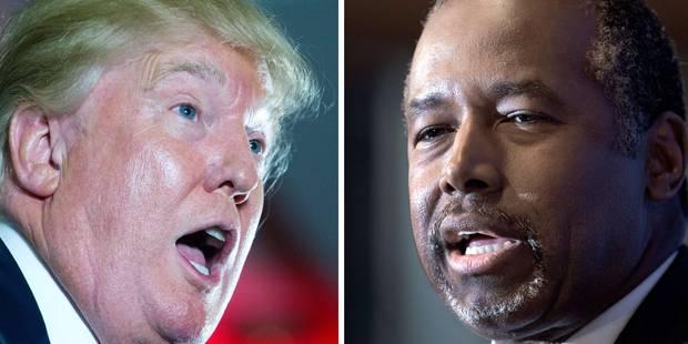 Présidentielles américaines : Trump menacé par Carson ? - La Libre