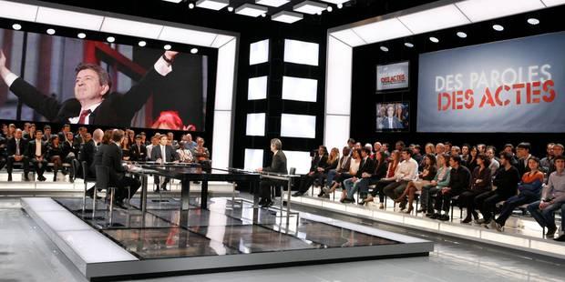 """""""Des paroles et des actes"""": l'annulation aurait coûté 400.000 euros à France Télévisions - La Libre"""