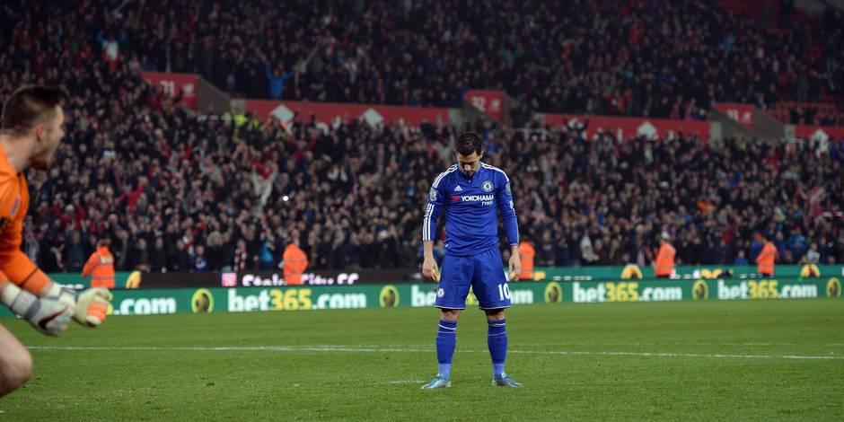 Eden Hazard, roi déchu des onze mètres