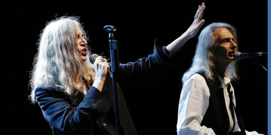 Patti Smith a gardé intacte sa force de conviction - La Libre