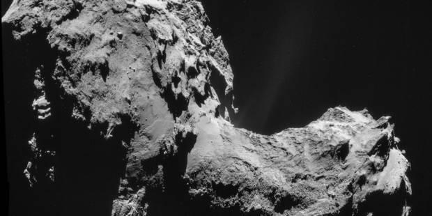 """Surprise: de l'oxygène dans l'atmosphère de la comète """"Tchouri"""" - La Libre"""