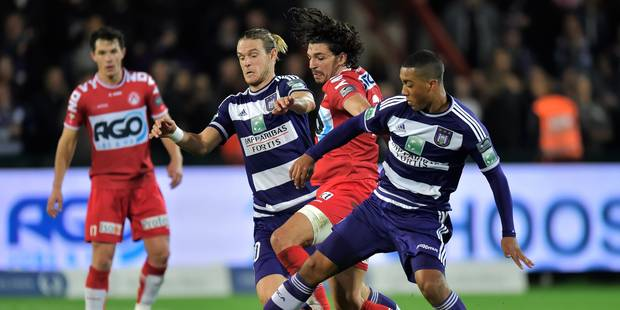 Anderlecht se contente d'un nul à Courtrai (1-1) - La Libre