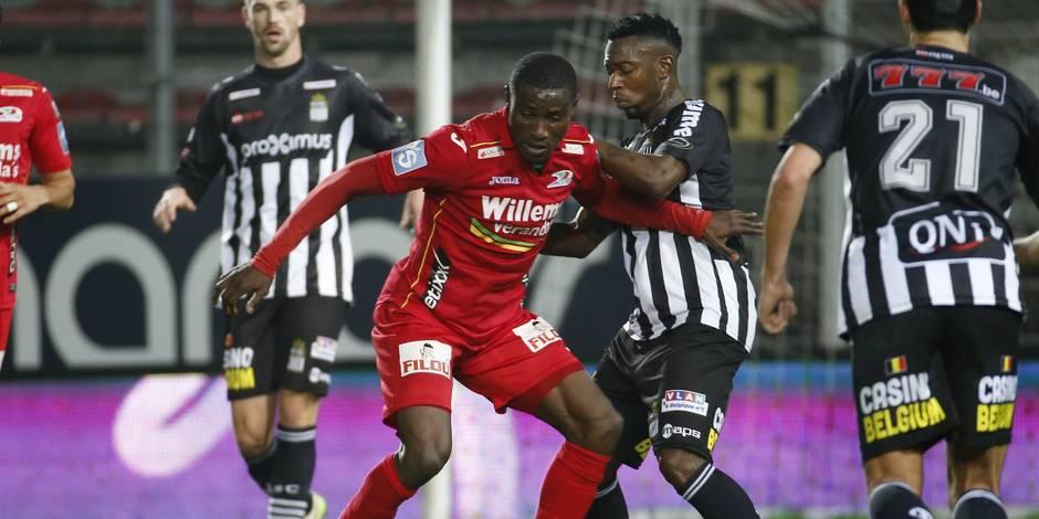 Charleroi se pénalise dans les arrêts de jeu, Bruges recolle à la tête