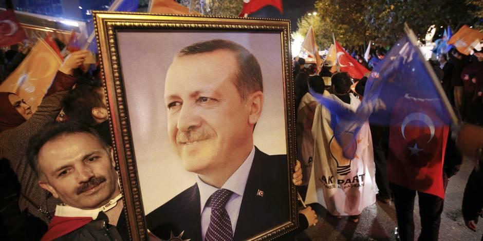 Edito: Erdogan transforme un échec en victoire - La Libre