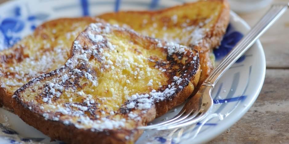 Trois recettes gourmandes pour préparer le pain perdu