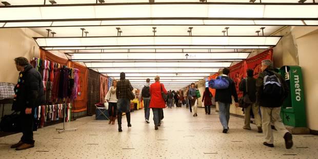 Une personne retrouvée morte à la gare de Bruxelles Centrale - La Libre