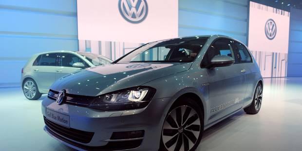 GB: les ventes d'automobiles de marque Volkswagen ont chuté de 10% en octobre - La Libre